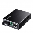 Cudy MC100SB-40A Fast Ethernet 10/100Mb/s Fiber single-mode konverter WDM BiDi (1550nm TX / 1310nm RX) dometa do 40km preko 1 fiber vlakna, BER<1E-9, podržava LFP (SC konektor)