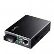 Cudy MC100SB-40B Fast Ethernet 10/100Mb/s Fiber single-mode konverter WDM BiDi (1310nm TX / 1550nm RX) dometa do 40km preko 1 fiber vlakna, BER<1E-9, podržava LFP (SC konektor)