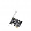 Cudy PE10 Gigabit PCI-Express kartica 10/100/1000Mb/s RJ-45, Realtek RTL8168E čip, Wake-on-LAN, low & high bracket, Windows / MacOS / Linux drajveri