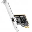 Cudy PE25 2.5-Gigabit RJ45 2.5GBASE-T Network PCI Express Adapter, 10M/100M/1G/2.5Gbps (802.3bz), jumbo frame, RealTek RTL8125 chip,  Windows / Windows Server / Linux, low & full profile bracket