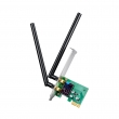 Cudy WE1200 WiFi AC1200Mb/s High Gain PCI-Express dual band 2.4GHz & 5GHz 802.11ac/a/b/g/n kartica 100mW (20dBm), CCA / QoS / WMM, low & high bracket, 2 x eksterne dual band high power MIMO RP-SMA antene