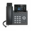 "Grandstream-USA GRP-2612P Carrier-grade 4-line/2-SIP VoIP HD telefon, podesivi 2.4"" TFT color LCD 320x240 displej, 16 Virtual Multi-Purpose (VPK) i BLF tastera, 2 x UTP porta 10/100Mb/s, PoE"