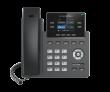 "Grandstream-USA GRP-2612 Carrier-grade 4-line/2-SIP VoIP HD telefon, podesivi 2.4"" TFT color LCD 320x240 displej, 16 Virtual Multi-Purpose (VPK) i BLF tastera, 2 x UTP porta 10/100Mb/s"