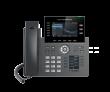 "Grandstream-USA GRP-2616 Carrier-grade 6-line/6-SIP VoIP HD telefon, podesivi 4.3"" LCD 480x272 & 2.4"" LCD 320x240 dual TFT color displeji, 48 VPK i BLF tastera, 2 x Gigabit UTP porta, 802.11ac WiFi, Bluetooth, PoE"