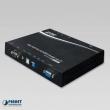 HDMI/USB Video Wall na IP extender - predajnik, 4K Ultra-HD/HDCP, HDMI 1.4a, 16 kanala (DIP svič), prenosi i IR daljinsku kontrolu, EDID podrška za više prijemnika i kaskadnu vezu predajnika, PoE+ (Planet IHD-410PT)