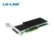 LR-Link Dual Port 2 x 40-Gigabit QSFP+ 40GBase-X Server Network PCI Express v3.0 Adapter, Intel XL710 chip, network virtualization, Windows / Windows Server / Linux / VMWare, low & full profile bracket