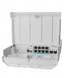 MikroTik netPower Lite 7R outdoor svič 8 x Gigabit LAN + 2 x SFP+ slota, 7 reverse Passive PoE-in portova, 1 x Passive PoE-out port, SwitchOS (bez adaptera za napajanje!)