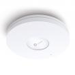 TP-Link EAP620 HD AX1800 Wi-Fi 6 bežični MU-MIMO dual band 1775Mb/s access point 2.4 & 5GHz 802.11ax/ac/n/g/b/a, OFDMA, Gigabit PoE LAN, plafonsko-zidno kućište, 802.11k/v roaming, 4 antene, Omada Software Controller
