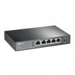 TP-Link TL-R605 (ER605) Omada VPN Gigabit Firewall ruter – 1 WAN + 3 WAN/LAN + 1 LAN, VPN IPsec / OpenVPN / L2TP / PPTP, smart load balance/ app optimized/ link backup, IP/MAC/URL filter, Zero-Touch Provisioning & Cloud
