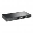 TP-Link TL-SG2428P PoE+ upravljiv L3-lite svič 28 gigabit (24 x 802.11af/at do 30W / 250W ukupno + 4 SFP), Omada central cloud HW & SW Enterprise management, Zero-touch provisioning, Advanced QoS & security