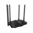 Tenda AC8 WiFi router AC1200Mb/s 802.11ac/a/b/g/n dual band 2.4 & 5GHz, Realtek 1 GHz CPU, 1 x Gigabit WAN  + 3 x Gigabit LAN, Beamforming+, WPS dugme za brzo kriptovanje, IPv6, 4 x 6dBi antene (pokriva do 90m2)