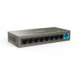 Tenda TEF1109DT 8-port 10/100Mb/s desktop / zidni svič + 1 x Gigabit uplink port (6kV lightning protection), VLAN & CCTV extend mode do 250m