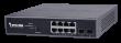 Vivotek AW-GEV-104B-130 Web Smart upravljivi PoE svič, 8xGbE RJ45(PoE) +2xGbE SFP, power budžet 130W, integrisana NetworkView aplikacija