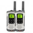 Voki toki Motorola TLKR T50 (par),8 kanala na slobodnim frekvencijama PMR446, 121 privatni kod, hands-free, LCD displej, punjač s postoljem, dopunjive NiMH baterije sa indikatorom, sobni monitor, domet do 6km