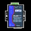 ZLAN industrijski RS-232/422/485 serijski device server i MODBUS gateway ZLAN5143BI, DB9 port za RS-232 i terminal za RS-422/485, 1 x LAN, 15KV ESD zaštita i 3KV izolacija, 9~48Vdc napajanje (kupuje se posebno), -40~85°C
