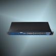 """ZLAN industrijski 16-portni 1U/19"""" rack-mount RS-232/422/485 serijski device server i MODBUS gateway ZLAN5G40A, RJ-45 portovi, 4 x LAN svič, metalno kućište, 230Vac napajanje, -40~85°C"""