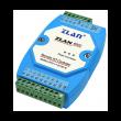 ZLAN industrijski 4-kanalni Remote I/O RS-485 MODBUS RTU kontroler ZLAN6002, RJ-45 port za RS-485, 4xDI, 2xAI (0~5Vdc/4~20mA/1~10KΩ), 4xRO (5A@230Vac/30Vdc), kompaktno DIN kućište, 24Vdc (kupuje se posebno), -40~85°C