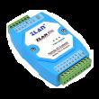 ZLAN industrijski 4-kanalni Remote I/O Ethernet MODBUS TCP/RTU kontroler ZLAN6042, 4xDI, 2xAI (0~5Vdc/4~20mA/1~10KΩ), 4xRO (5A@230Vac/30Vdc), kompaktno DIN kućište, 2KV ESD zaštita, 9~24Vdc (kupuje se posebno), -40~85°C