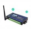 ZLAN industrijski 8-kanalni Remote I/O RS-485 & Ethernet RJ-45 & WiFi 2.4GHz AP/STA MODBUS TCP/RTU kontroler ZLAN6844, 8 x DI, 4 x AI (0~5Vdc/1~10KΩ) + 4 x AI (4~20mA/1~10KΩ), 8 x RO (5A@230Vac/30Vdc), 9~24Vdc, -40~85°C