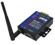 ZLAN industrijski RS-232/422/485 WiFi 2.4GHz AP/STA serijski device server i MODBUS gateway ZLAN7144, DB9 port za RS-232 i terminal za RS-422/485, 1 x LAN, RP-SMA antena, metal case, 9~24Vdc (kupuje se posebno), -40~85°C