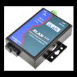 ZLAN industrijski fiber Ethernet media konverter po jednom singlemode vlaknu ZLAN9100-3, 1 x RJ-45 FE + 1 x SC simplex, TX: 1310nm, domet do 20km, metalno kućište, 2KV izolacija, 9~24Vdc (kupuje se posebno), -40~85°C