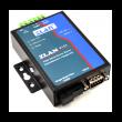 ZLAN industrijski fiber RS-232/422/485 na Ethernet protokol konverter po jednom singlemode vlaknu ZLAN9153-3, DB9 za RS-232 i terminal za RS-422/485 + 1 x SC simplex, TX: 1310nm, 20km, metal case, 9~24Vdc, -40~85°C