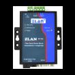 ZLAN industrijski fiber RS-232/422/485 na Ethernet protokol konverter po jednom singlemode vlaknu ZLAN9153-5, DB9 za RS-232 i terminal za RS-422/485 + 1 x SC simplex, TX: 1550nm, 20km, metal case, 9~24Vdc, -40~85°C