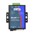 ZLAN industrijski fiber RS-232/422/485 media konverter po jednom singlemode vlaknu ZLAN9163-5, DB9 port (RS-232) i terminal (RS-422/485) + 1 x SC simplex, TX: 1550nm, domet 20km, metal case, 9~24Vdc, -40~85°C
