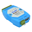 ZLAN industrijski RS-232 na RS-485 inrefejs konverter + 4-portni RS-485 hub i prenaponska zaštita ZLAN9440, DB9 port (RS-232) i terminali (RS-485: 1 x in + 4 x out), 12KV ESD zaštita i 2.5KV izolacija, 9~24Vdc, -40~85°C