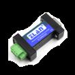 ZLAN industrijski RS-232 na RS-485 inrefejs konverter ZLAN9223E, DB9 port za RS-232 i terminal za RS-485, brzine 300~230400bps, domet do 1200m (9600bps), kompaktno kućište, nije potrebno dodatno napajanje, -40~85°C